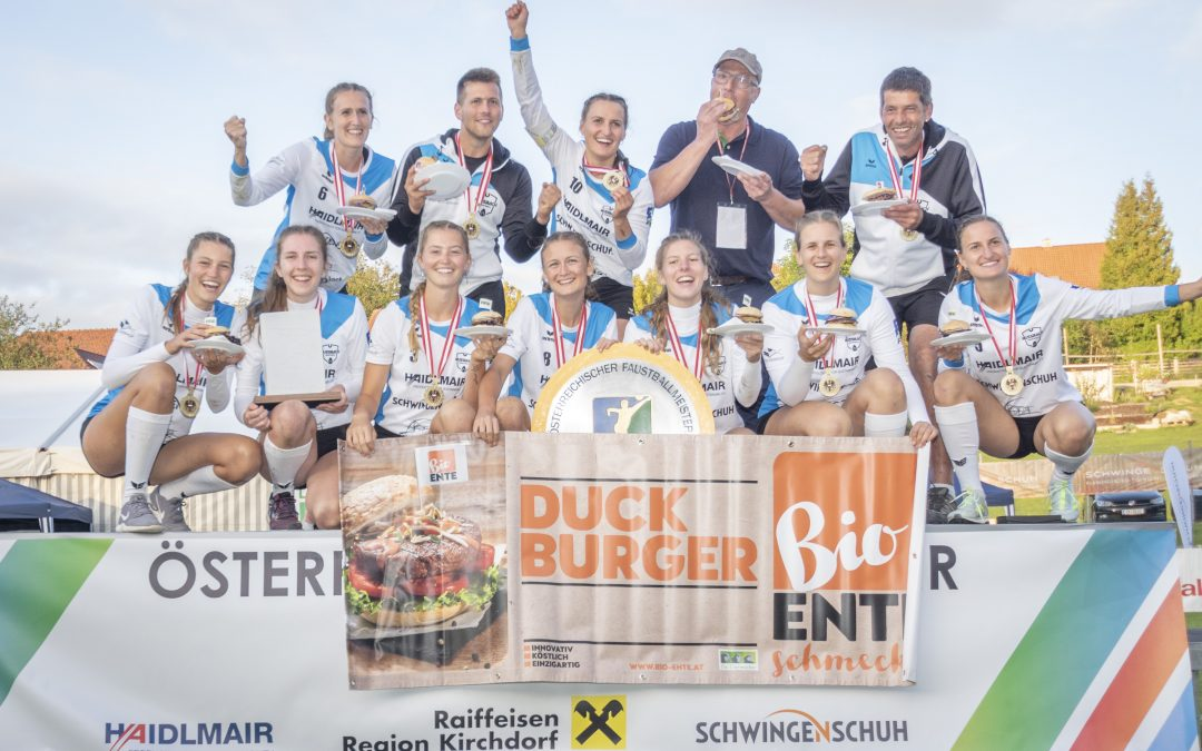 Nußbacher Damen sind Faustballmeister